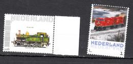 Train, Locomotive, Eisenbahn  Nederland Persoonlijke Zegels: NS Serie 82-040 + Rode Trein - Trains