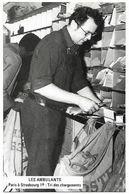 Métiers Des PTT - 1979 Les Ambulants PARIS à STRASBOURG - Tri Des Chargements - Postal Services
