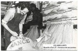 Métiers Des PTT - 1979 Les Ambulants MARSEILLE à PARIS - Fermeture Des Sacs Postaux - Postal Services