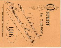 Carte Lettre Offert Par T.leroy Pour  Un échantillon  De Véritables Grains De Santé Du Docteur Franck En 1916 - Cartes