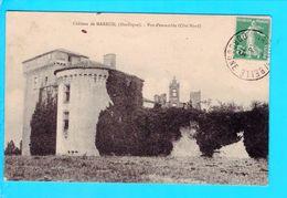 Cpa Carte Postale Ancienne   - Chateau De Mareuil - France