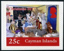 CAYMAN 2017 - Noël 2017, Crèche - 1 Val Adhesiv Neufs // MNH - Cayman Islands