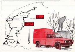 Nederland - Elfstedenrocht - 21 Februari 1985 - PTT Post - Stempel Leeuwarden 21 - II - 85 - Wintersport