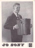 Carton Publicitaire (100 X 135 Mm) Disques D.M.F. Premier 45 Tours De Jo Sonny Avec Jean Ségurel & Robert Monédières - Other