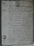Généralité D'Amiens 27 11 1785 , Préfet , 5 Cachets 2 Sols 4 Deniers  . TTB . Très Beau Document. - Seals Of Generality