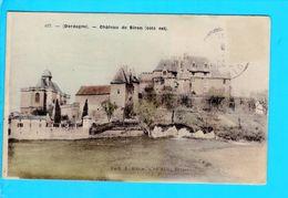 Cpa Carte Postale Ancienne   - Chateau De Biron - France