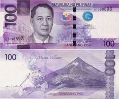 PHILIPPINES      100 Piso      P-208       2017      UNC  [sign. Duterte-Tetangco] - Filippine