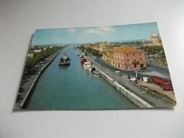 NAVE SHIP FIUMICINO IL CANALE ROMA - Chiatte, Barconi