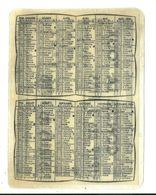 13 SALON DE PROVENCE CALENDRIER 1956 PUBLICITE SIROP DES 3 PINS MEDECINE SANTE BOUCHES DU RHONE - Calendriers