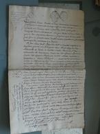 Généralité  D'Amiens  1781 , Deux Cachets : 4 Sols Et 2 Sols 4 Deniers , Beau Filigrane  . TTB - Seals Of Generality
