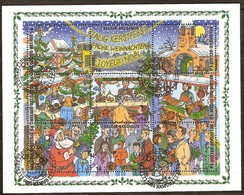 Belgie Belgique  1996 OCBn° Bloc 73 (o) Oblitéré 1e Dagstempel  Cote 7,20 Euro  Noël Christmas Kerstmis - Blocs 1962-....