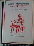 EURO CARNE EUROCARNE VERONA FIERA IL MACELLAIO  FILATELICA   N1969 GO21836 - Fiere