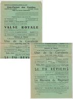 Cinéma  Jemeppe S/s   Programme Avril 1941 - Programs