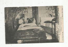 Cp , Militaria , Campagne De 1914-1915 , Bombardement De REIMS , Unintérieur Rémois ,chambre à Coucher En Cave - Guerre 1914-18