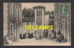 DF / 34 HÉRAULT / LAMALOU LES BAINS / L' HÔPITAL ET LE GRAND HÔTEL DES BAINS / ANIMÉE / CIRCULÉE EN 1916 - Lamalou Les Bains