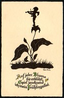 B1350 - Glückwunschkarte - Walter Schenke - Meissner & Buch 3369 TOP - Silhouettes