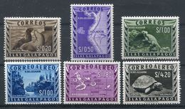 1959-ECUADOR-FAUNA-GALAPAGOS-DARWIN-6 VAL. -M.N.H.-LUXE !! - Equateur