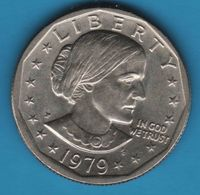 USA 1 DOLLAR 1979 P ANTHONY KM# 207 - Federal Issues