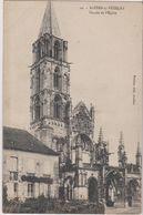89   Saint Pere Sous Vezelay  L'eglise Facade - Autres Communes