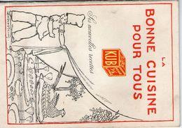 Livret De Recette Kub Vers 1915 - Menus