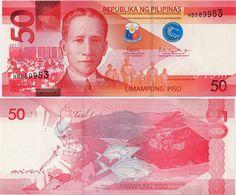 PHILIPPINES      50 Piso      P-New       2017      UNC  [sign. Duterte-Tetangco] - Filippine