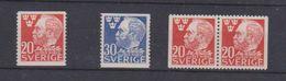 Suède  / N 326 - 327 Et 326 B / NEUFS ** - Sweden