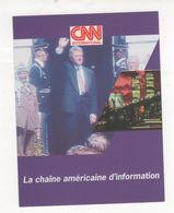 Fiche Publicité FRANCE TELECOM CABLE CHAINE TELEVISION AMERICAINE D INFORMATION CNN - Pubblicitari
