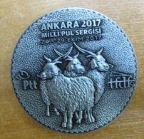 AC - NATIONAL STAMP EXHIBITION ANKARA 2017 - 20 - 29 OCTOBER 2017 ANKARA GOAT MEDALLION - Royal/Of Nobility