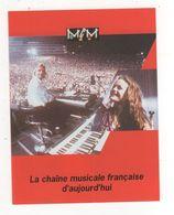 Fiche Publicité FRANCE TELECOM CABLE CHAINE MUSICALE FRANCAISE D AUJOURD HUI  MCM - Publicités