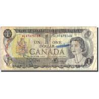 Billet, Canada, 1 Dollar, 1973, 1973, KM:85c, B - Canada