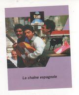 Fiche Publicité FRANCE TELECOM CABLE CHAINE ESPAGNOLE TVE - Publicités