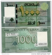 LEBANON      1000 Livres      P-90b    2012   UNC - Libano