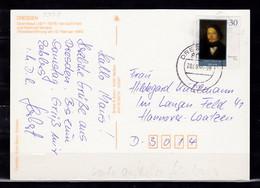 B-1711, DDR, MiNr. 3358, EF Auf Karte - Cartas