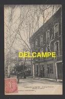 DF / 34 HÉRAULT / LAMALOU LES BAINS / AVENUE CHARCOT / MAISON VILLEBRUN / LE TABAC ET LE COIFFEUR J. LAUZE / 1906 - Lamalou Les Bains