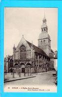 Cpa Carte Postale Ancienne   - Dinan L Eglise St Sauveur - Dinan