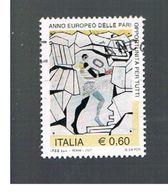 ITALIA REPUBBLICA  - UNIF. 2997 -   2007 PARI OPPORTUNTA'    - USATO - 6. 1946-.. Republic