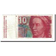 Billet, Suisse, 10 Franken, 1991, KM:53i, TTB - Suisse