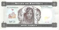 Eritrea - Pick 1 - 1 Nakfa 1997 - Unc - Erythrée