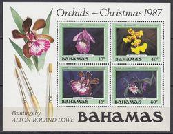 Bahama - CHRISTMAS / ORCHIDS 1987 MNH - Bahamas (1973-...)