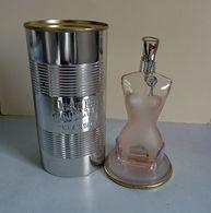 """Flacon """"Classique"""" De JEAN-PAUL GAULTIER Dans Sa Boîte Métal 50 Ml VIDE Pour Collection - Bottles (empty)"""