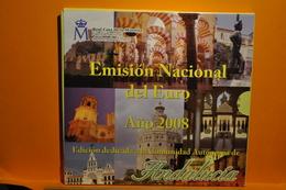 BU ESPAGNE 2008 Edicion De La Comunidad Autonoma De Andalucia + Médaille - España