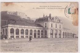 Excursion En Franche Comté Besancon La Gare De La Mouillere Animée - Besancon