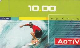 ACTIV  SURF   Prépayée 2003 - Russie
