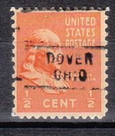 USA Precancel Vorausentwertung Preo, Locals Ohio, Dover 729 - Vereinigte Staaten