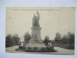 MADAGASCAR  -  TANANARIVE -  MONUMENT COMMEMORATIF  .....   ANIME     TTB - Madagascar