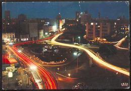 NIGERIA - 4083 .- Tinubu Square, LAGOS, At Night - Nigeria