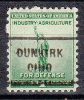 USA Precancel Vorausentwertung Preo, Locals Ohio, Dunkirk 712 - Vereinigte Staaten