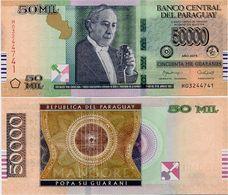 PARAGUAY       50,000 Guaraníes       P-239       2015       UNC  [ 50000 ] - Paraguay