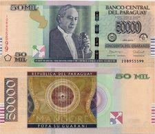 PARAGUAY       50,000 Guaraníes       P-239[b]       2015 (2017)       UNC  [ 50000 ] - Paraguay