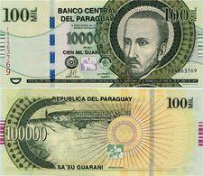 PARAGUAY       100,000 Guaraníes       P-233c       2011       UNC  [ 100000 ] - Paraguay